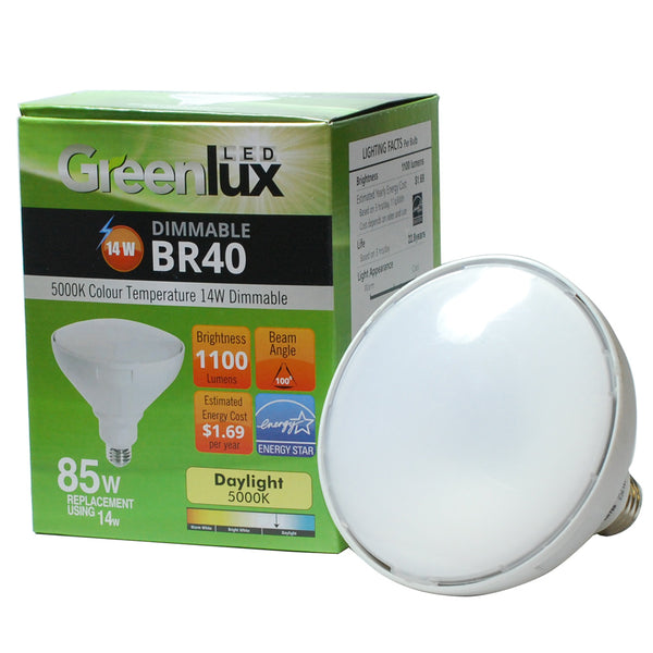 High Quality Led 14w Dimmable Br40 Daylight Light Bulb