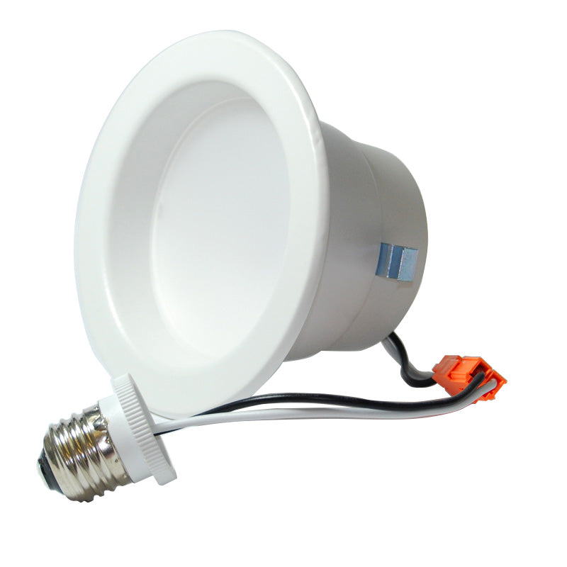 High Quality 4 inch Recessed LED 9W Soft White Downlight Kit - 65w equiv.