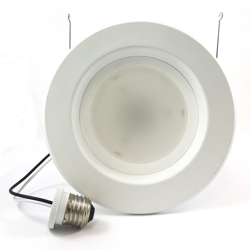 High Quality 5-6 in Recessed LED 12W 3000K Retrofit Downlight Kit - 100w eq.