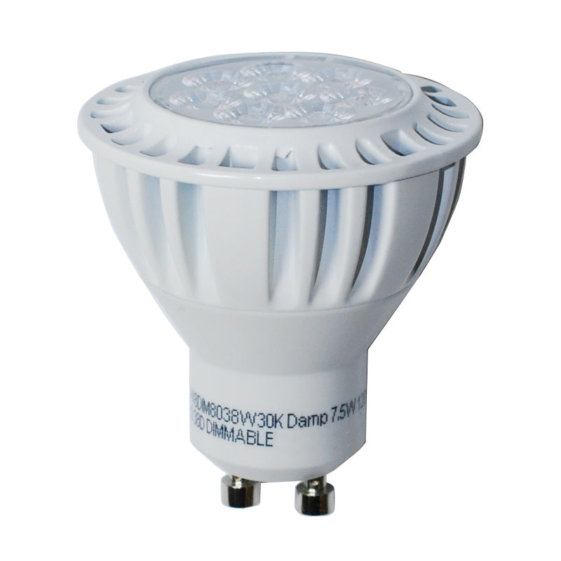 High Quality LED 7.5W GU10 MR16/PAR16 Warm White 650LM Flood Light Bulb