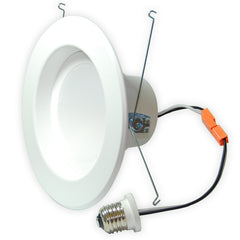 High Quality 5-6 inch Recessed LED 15W Warm White Retrofit Downlight Kit - 100w equiv.