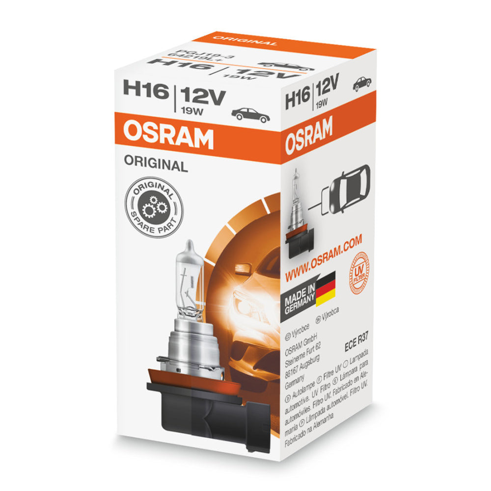 OSRAM  H16 12V 19W 64219L+ Original Line High-Performance Automotive Bulb