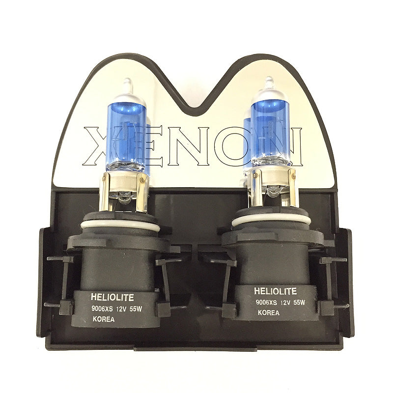 BULBAMERICA 9006XS - 55W 12V Xenon White Twin Pack Halogen Light Bulb