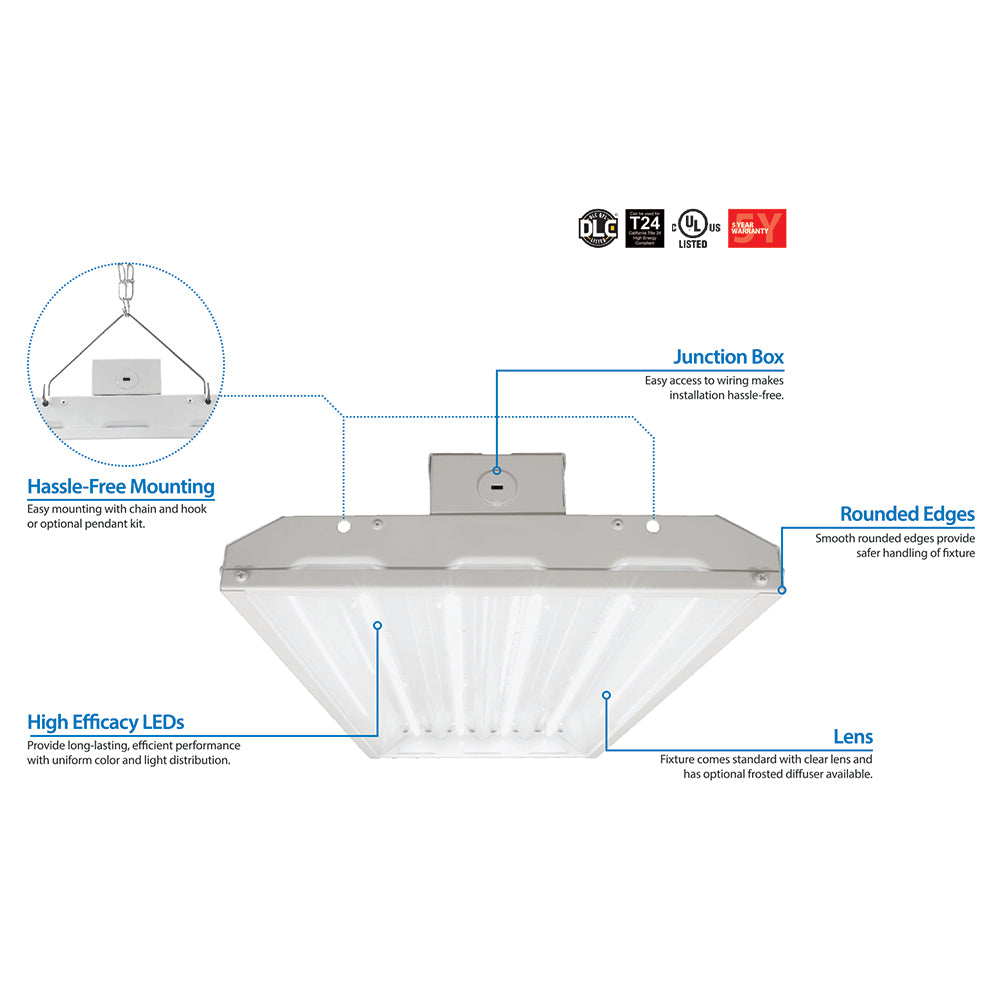 Led High Bay Wiring Diagram Trusted Series Nicor 320 Watt In 4000k Bulbamerica