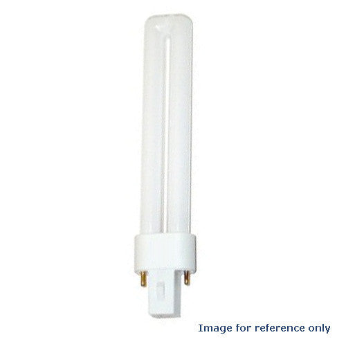 LUXRITE 9W Single Tube 2-Pin 3500K G23 Fluorescent Light Bulb