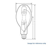 GE 325W ED37 MVR325 C/I/U/WM Lighting Bulb - BulbAmerica
