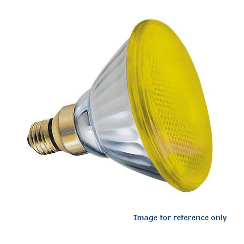 GE  85WM - Yellow 85w PAR38 120v Light Bulb