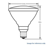 GE 175w PAR38 HEAT 120v Light Bulb_1