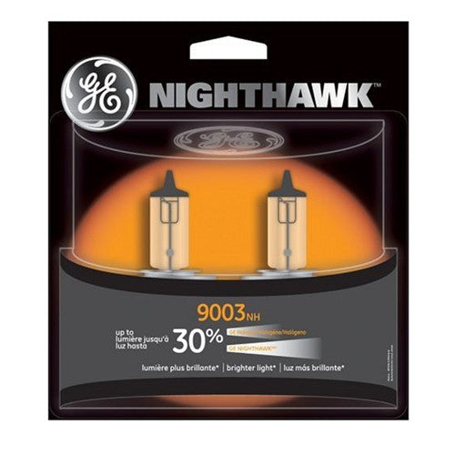 GE 9003 NH - NIGHTHAWK 67w 12.8v T4.75 Bulb Automotive bulb - 2 Pack