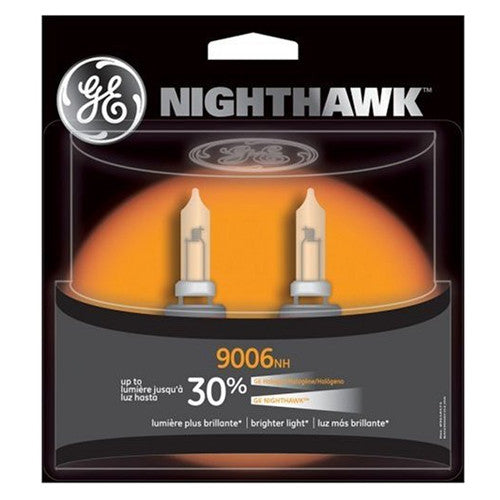 GE 9006 NH - NIGHTHAWK 55w 12.8v T4 Automotive Lamp - 2 Bulbs