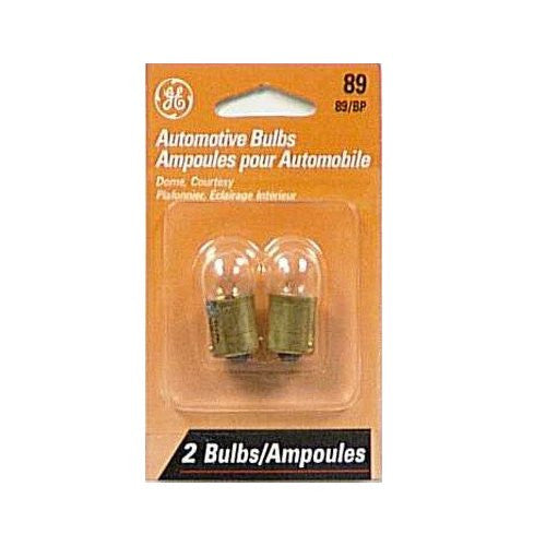 2 Bulbs - GE 47797 89 LL 8W BA15s G6 13V Miniature Automotive Long Life Lamp
