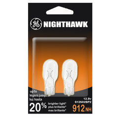 2PK - GE 89242 912 NH 13W 12.8v T5 Wedge W2.1x9.5d Nighthawk Automotive bulb