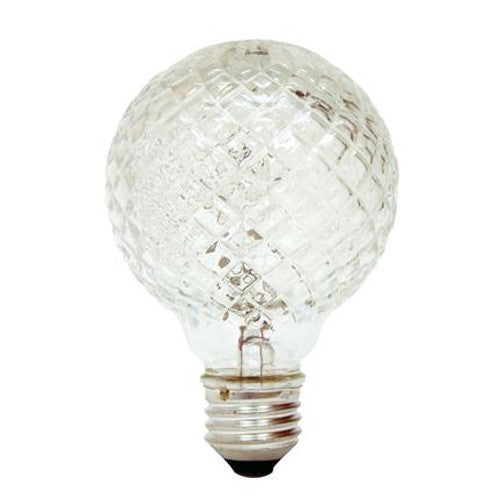 GE 40w 120v Crystal G25 Halogen light bulb