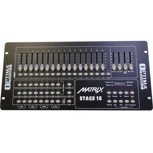 Stage and Studio 16ch Controller & Dimmer Pack System