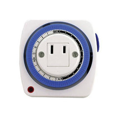 SUNLITE T100 24 Hr Appliance Timer White Color
