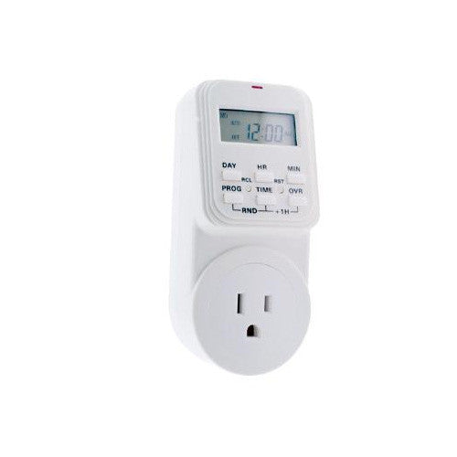 SUNLITE T300 7 Day Digital Heavy Timer White Color