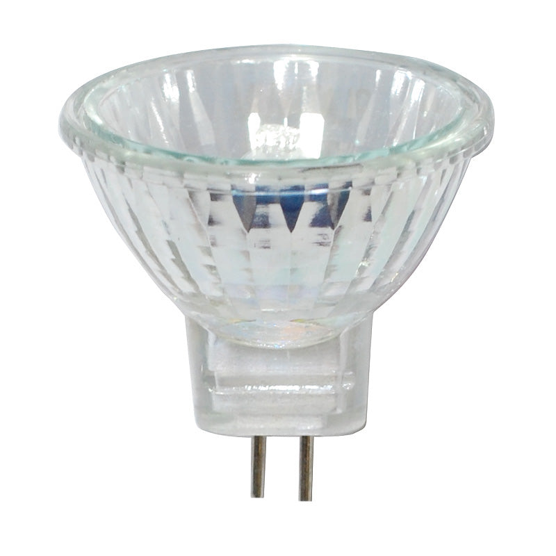 Platinum 10W 12V MR11 GU4 Bipin Base Narrow Flood Mini Reflector Bulb