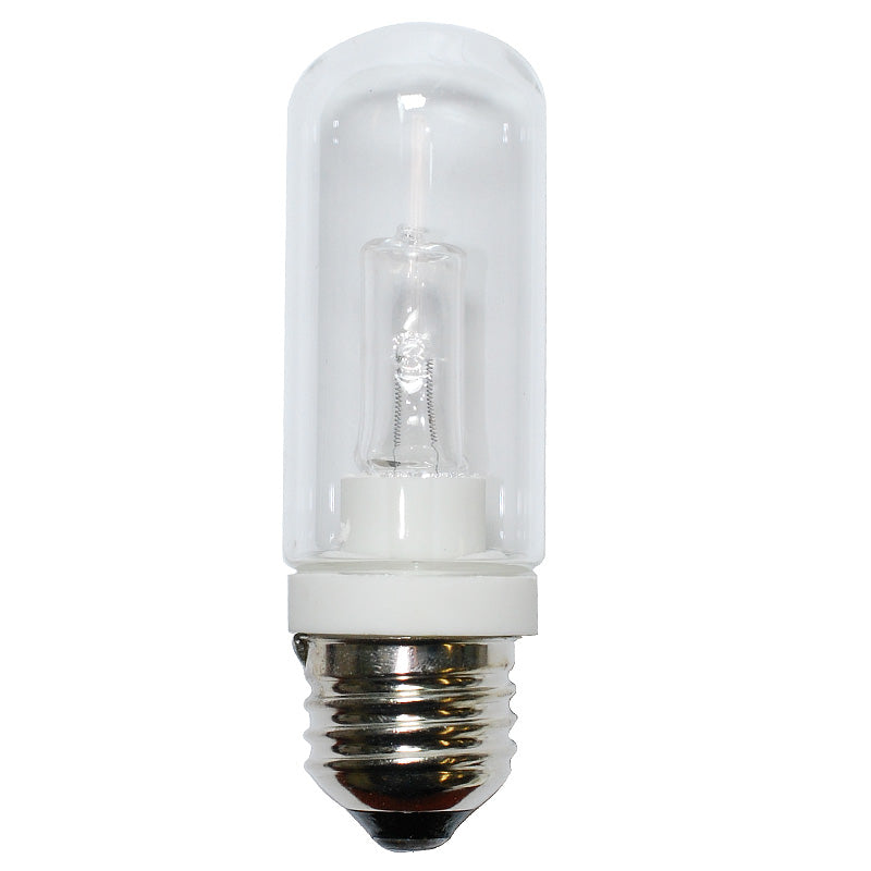 BulbAmerica 75W 120V T10 E26 Medium Base Clear Halogen Bulb