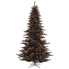 Vickerman 5.5Ft. Black 794 Tips Christmas Tree 400 Clear Mini Lights
