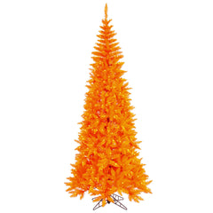 Vickerman 9Ft. Orange 1798 Tips Christmas Tree 700 Orange Mini Lights