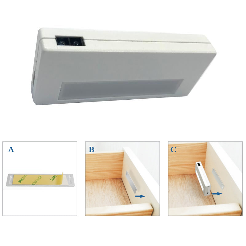 Sensor LED Light for Closet/Drawer/Cabinet/Vehicle with Magnetic Stick-on