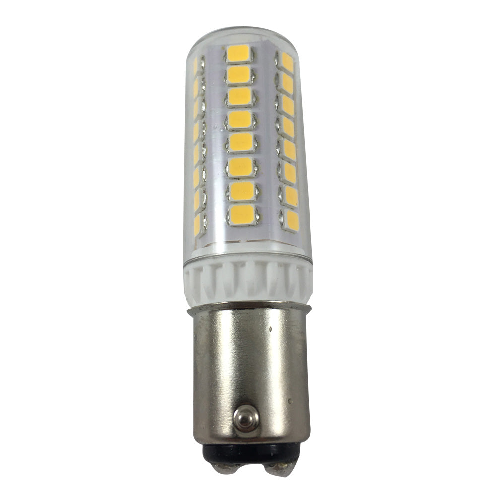 BulbAmerica 4W BA15D Base 530Lm 120V 2700K Warm LED
