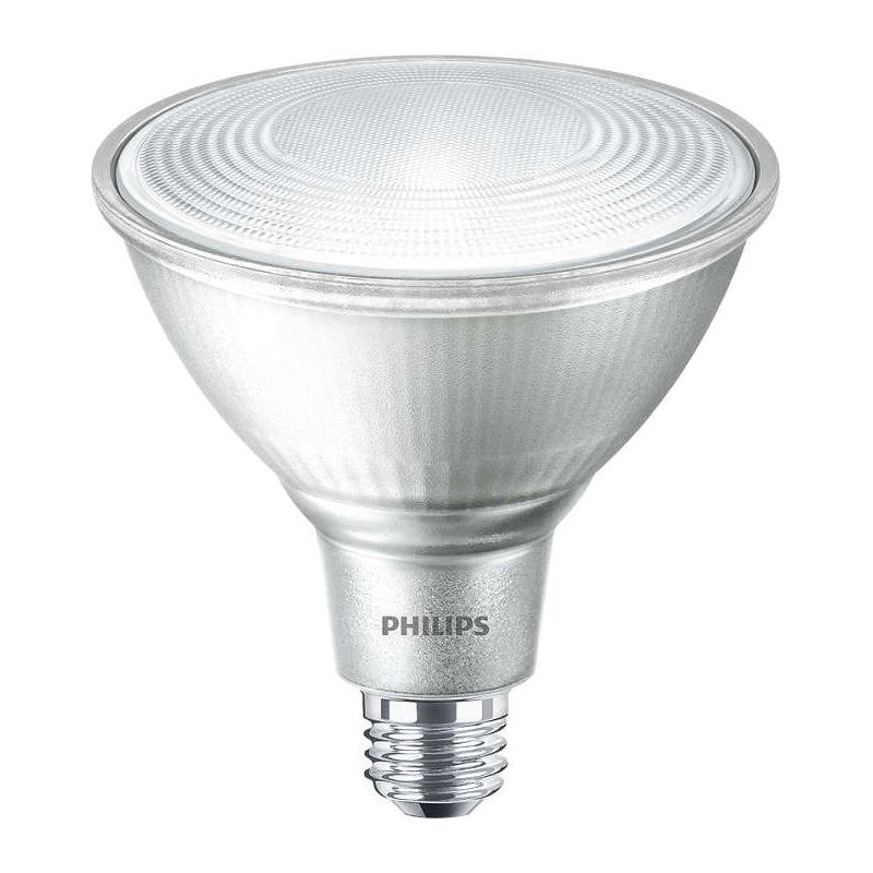 Philips 16W Dimmable PAR38 FL25 LED Bulb - 3000k Bright White Light - 120w equiv.