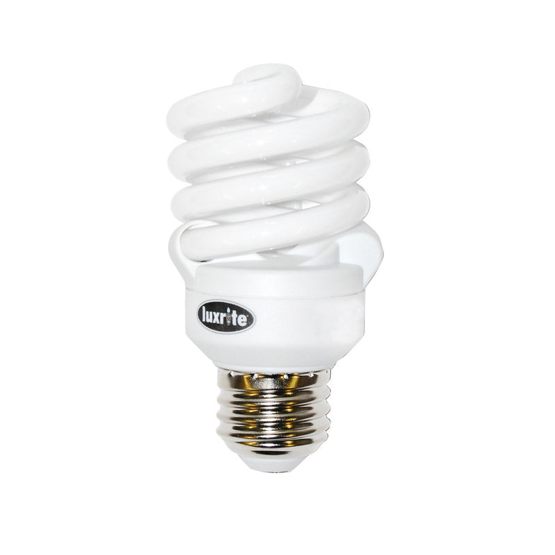 LUXRITE 13W 120v Ultra Super Mini Twist Soft White 2700k Fluorescent Bulb