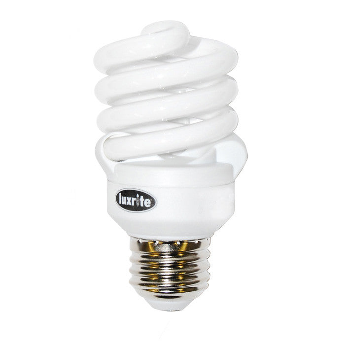 Luxrite 13w 120v Ultra Super Mini Twist 6500k Daylight Fluorescent Light Bulb