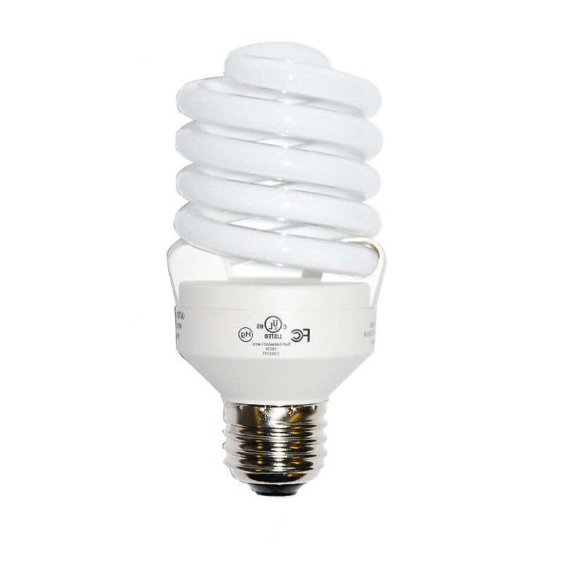 Luxrite 23w 120v Super Mini Twist Soft White 2700k Fluorescent Light Bulb