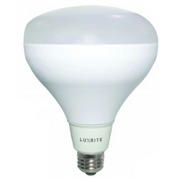 LUXRITE 15W 3000K Dimmable BR30 LED Light Bulb