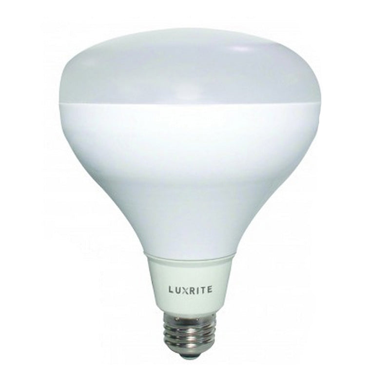 Luxrite 15W BR30 Dimmable LED Bright White 5000K Light Bulb