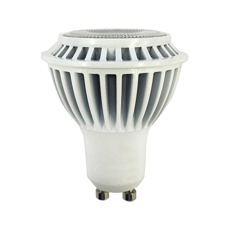 Mr16 Gu10 Led Bulbs Dimmable 7w 50w Equivalent 3000k: LUXRITE 7W LED MR16 GU10 Dimmable Soft White 3000k Flood
