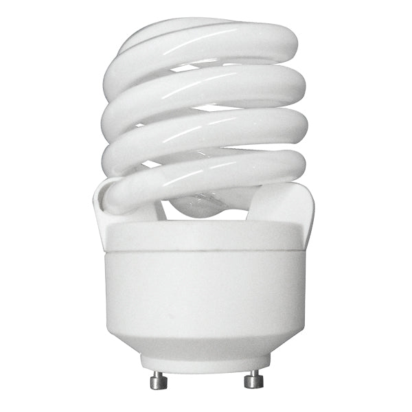 Luxrite 20w GU24 Twist T2 Cool White 4100k Fluorescent Light Bulb