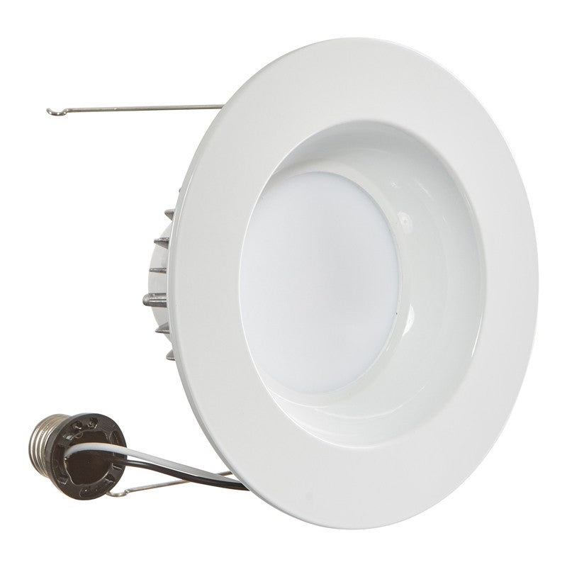LUXRITE 15W LED 6 inch 1230Lm 5000K Retrofit Recessed Downlight Light