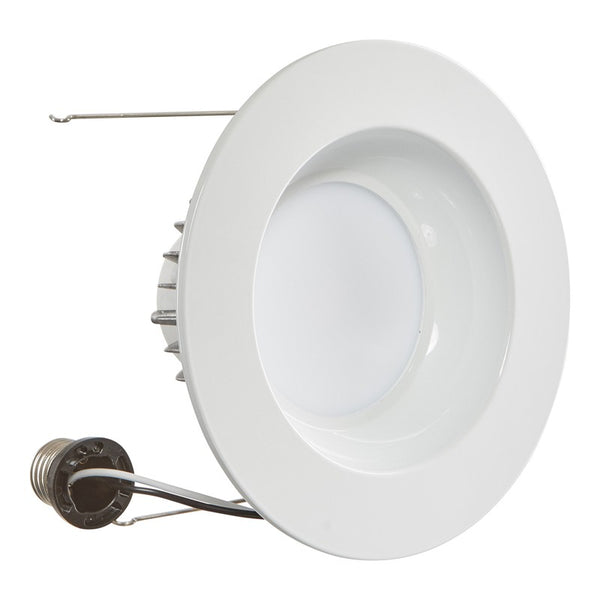 Luxrite 15w Led 6 Inch 1230lm 5000k Retrofit Recessed