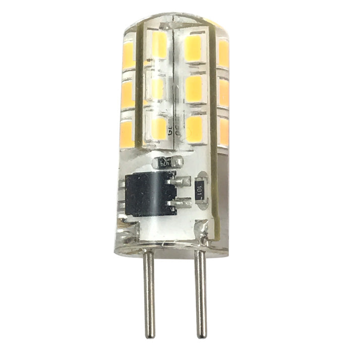 Luxrite 2W 120V G8 LED Warm White 2700K 120Lm Light Bulb