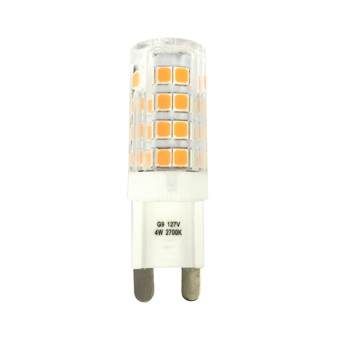 Luxrite 4W 120V LED G9 Bi-Pin Warm White 2700K Light Bulb
