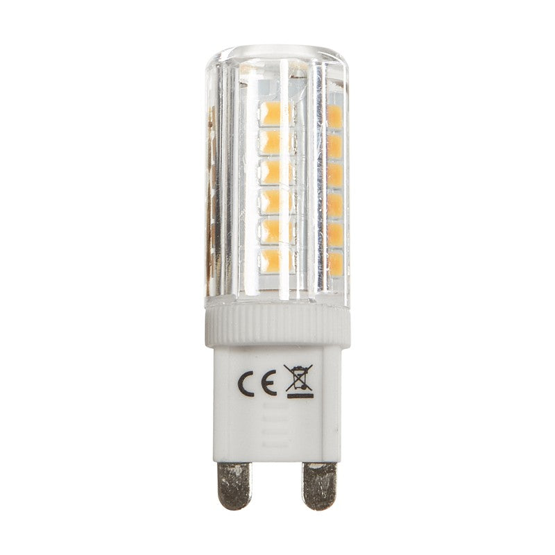 Luxrite 3.5W 120V LED G9 Bi-Pin T4 Dimmable 2700K Warm White Light Bulb - 40w equiv.