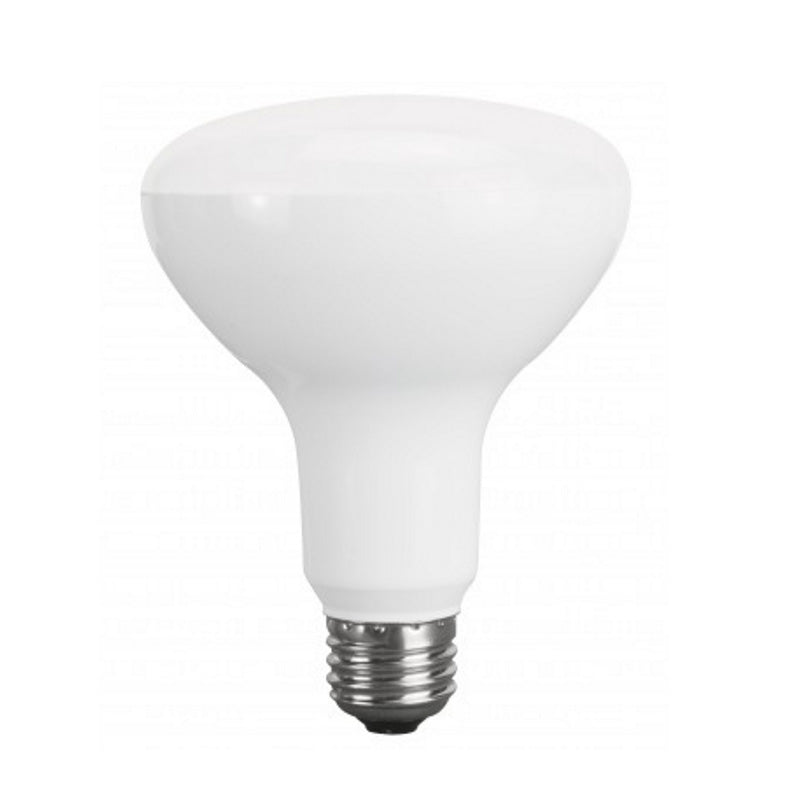 Luxrite 10w Br30 Dimmable Led 3500k Natural White Light Bulb Bulbamerica