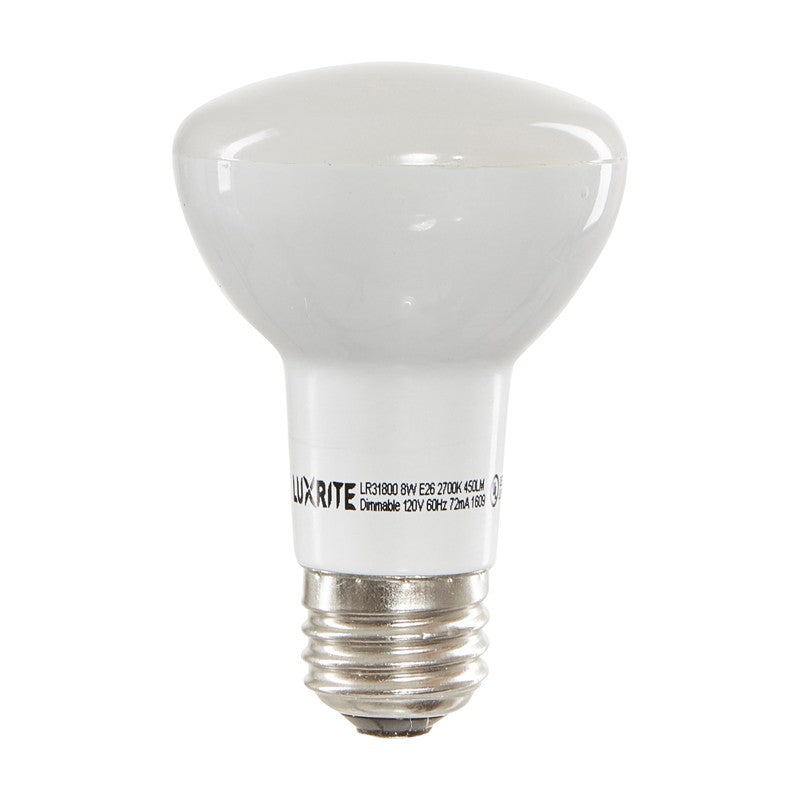 Luxrite 6.5w R20 3000k Soft White Dimmable LED Light Bulb - 45w equivalent