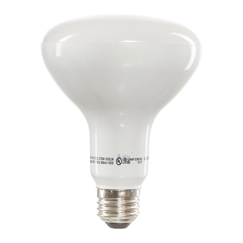 Luxrite 9W BR30 Dimmable LED 3500K Natural White Light Bulb