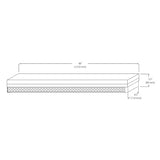 NICOR 4 foot Linear High Output LED Strip Light in 3000K - BulbAmerica