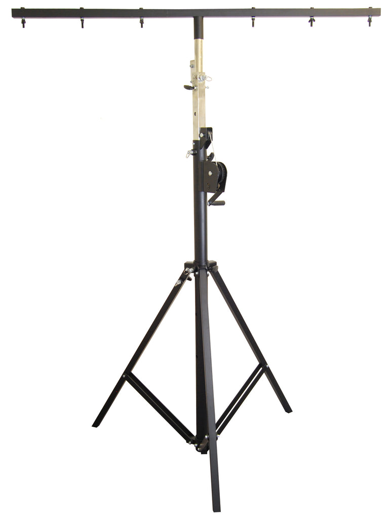 OPTIMA Professional 12 Ft. Crank-Up Tripod with T-Bar Support Lighting Stand