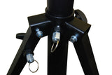 OPTIMA Professional 12 Ft. Crank-Up Tripod with T-Bar Support Lighting Stand - BulbAmerica