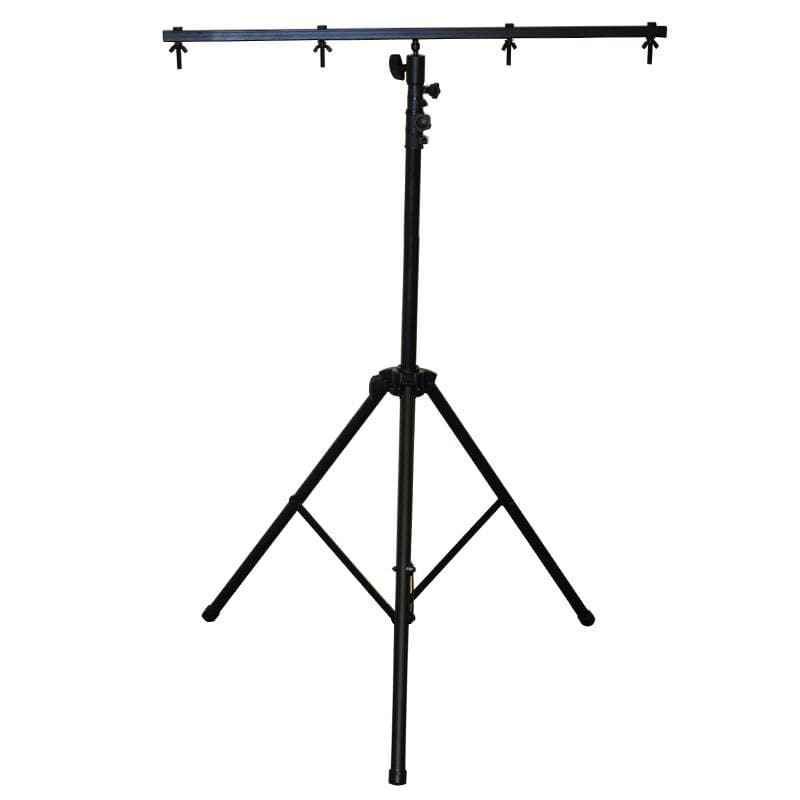 OPTIMA 9-ft. PRO Tripod with T-Bar DJ Heavy Duty Lighting Stand
