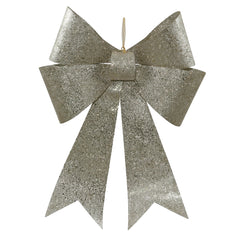 30'' Champagne Sequin Bow 1/Bag