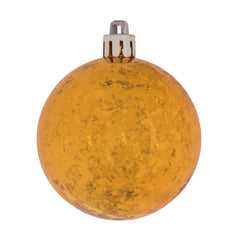 Vickerman 4 in. Antique Gold Shiny Mercury Ball Christmas Ornament