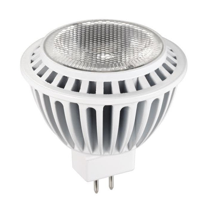 LUXRITE 7W MR16 LED GU5.3 4000K Narrow Flood 25 Dimmable Light Bulb
