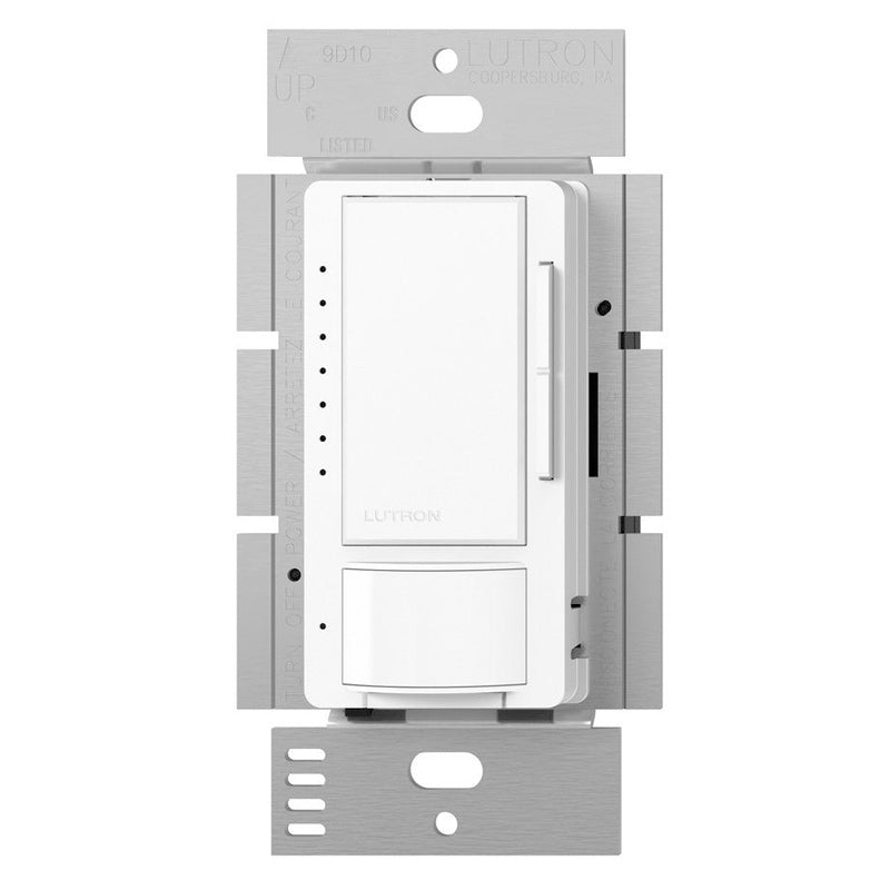 Lutron Maestro Single-Pole/3-Way CFL-LED Dimmer with Occupancy Sensing - White